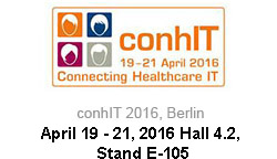 conhIT - 19-21 April 2016 Connecting Healthcare IT