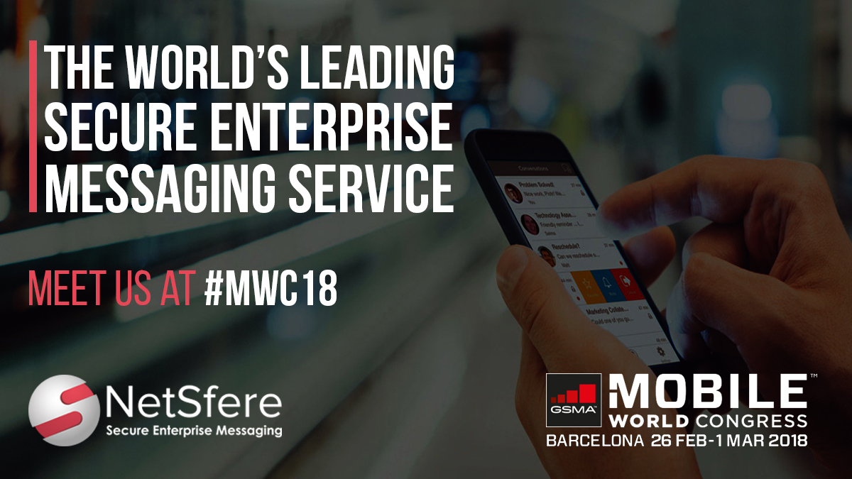 Meet us at MWC18